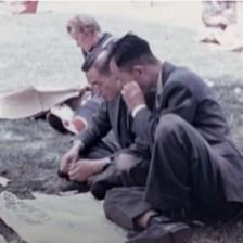men reading paper