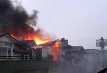 Çatıda Çıkan Yangın Korkuttu