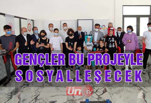 Ünye'de Gençlere Yönelik Gelişim Merkezi Açıldı