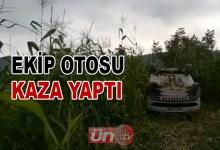 Ekip Otosu Kaza Yaptı!