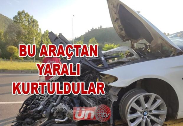 Yunus Emre Tüneli'nde Kaza: 2 Yaralı