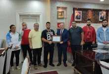 Başkan Tavlı'dan Başarılı Sporculara Teşekkür Belgesi