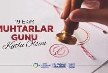 Başkan Güler'in Muhtarlar Günü Mesajı