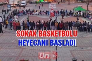 Ünye'de Basketbol Heyecanı Başladı