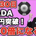 暗号通貨4月30日最新チャート速報【仮想通貨】