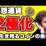 暗号通貨2極化で残るコイン【仮想通貨】