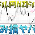 豪ドル円&NZドル円暴落で大損目前 ループイフダン トラッキングトレード リピート系FX 損切りどうする?