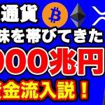 暗号通貨2000兆円流入説【仮想通貨】