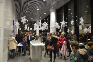 Special Collections Centre created a winter wonderland for their Snow Queen themed activities in Sir Duncan Rice Library