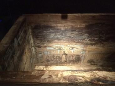 Interior of Nakht's coffin