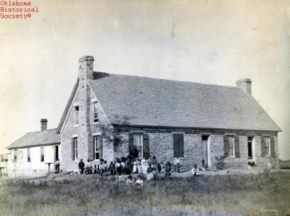 Boarding School, Fort Sill, Oklahoma