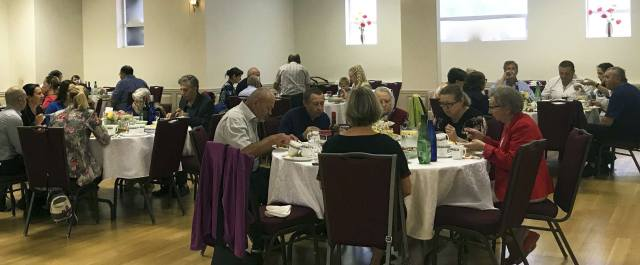 St. Anne's Ukrainian Orthodox Church, Scarborough, Ontario — Feast day, lunch