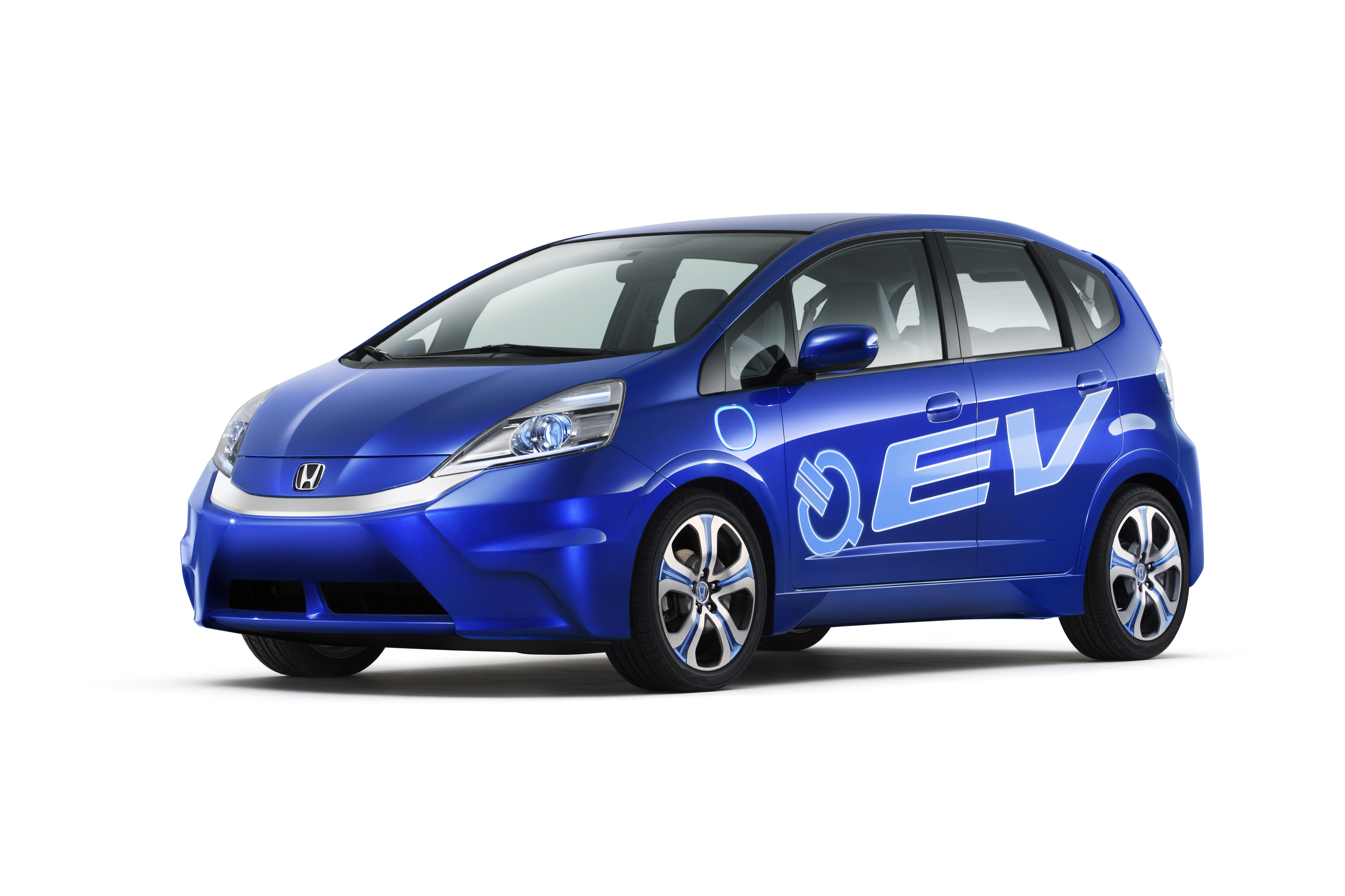 World Debut of Honda Fit EV Concept Electric Vehicle and Plug in