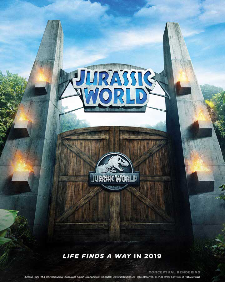Jurassic World Ride coming to USH 2019 - teaser image (tag)-1
