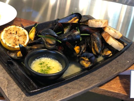 Skillet Roasted Mussels - $12.00