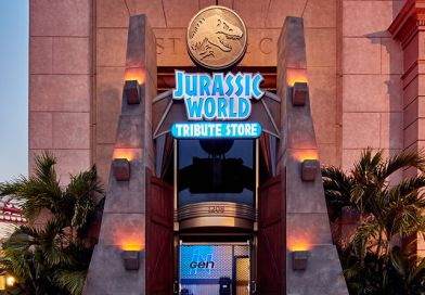 First Look Inside Jurassic World Tribute Store