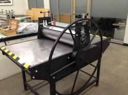 Vandercook Etching press
