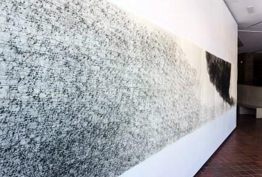 Colonization by Cattle 2016 intaglio 52 x 260 inches