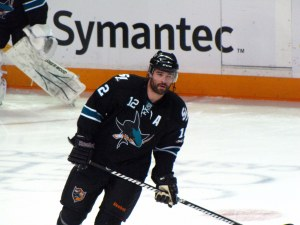 Sharks' center Patrick Marleau debuted in 1997. Photos Courtesy of Bridget Samuels and Dinur/Flickr