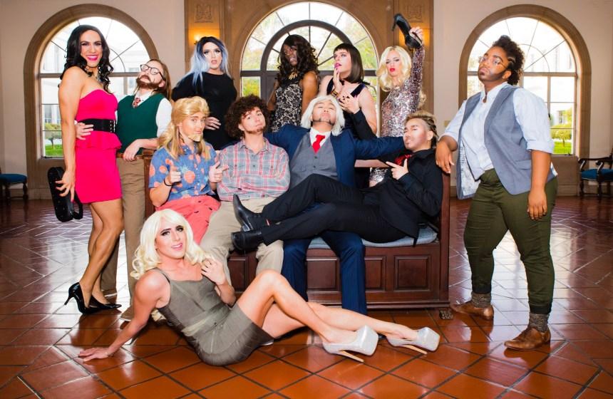 Students performed dressed in drag for PRIDE's Celebration of Gender Expression: Supreme Drag Superstar V to a sold-out crowd last week.