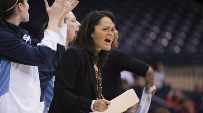 Niecee Nelson was hired by the Indiana University-Purdue University Fort Wayne Mastodons after working as an assistant coach at USD since 2005. Photo Courtesy of USD Toreros