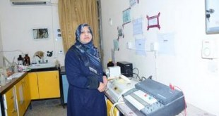 Dr. Khadija Jabbar obtains a patent for designing a new multi-length reaction file for the flow injection system.