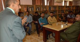 جامعة الكوفة  تنظم  ورشة عمل حول اخلاقيات المهنة