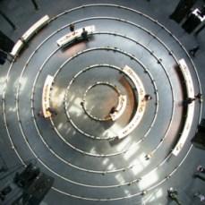 Longplayer vista dall'alto, Roundhouse, Londra (Photo credit:http://longplayer.org/live/)