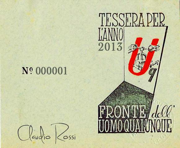 TESSERA-CLAUDIO