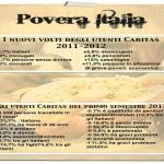 Povera famiglia: 4 milioni di persone si rivolgono alla Caritas per mangiare