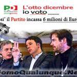 Primarie Pd un affare da 6 milioni di Euro