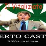 Il Vitaliziato: Roberto Castelli 5.500 euro al mese