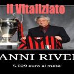 Il Golden Vitaliziato: Gianni Rivera 5.029 euro al mese
