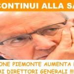 Sanità Piemonte: Più soldi ai direttori generali, infermieri furiosi