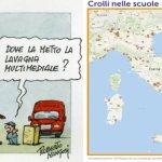 """La """"buona scuola"""" secondo Renzi: In tre anni 117 crolli"""