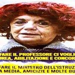Per fare il ministro in Italia bastano terza media e balle