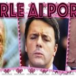 Il lecchino Scalfari, il bugiardino Renzi e il contadino Berlusconi