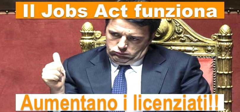 Il Jobs Act serve a licenziare
