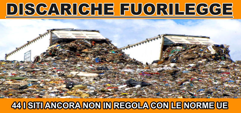 Discariche abusive in Italia