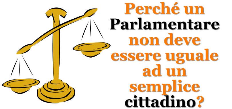 abolizione Immunità parlamentare