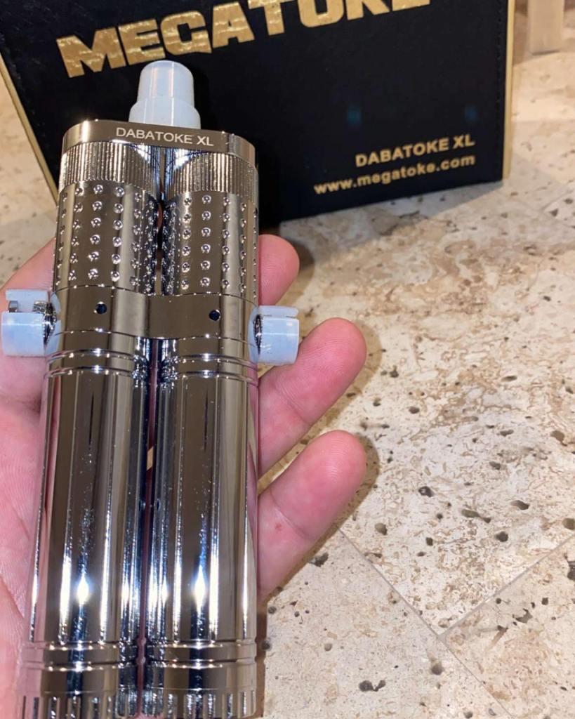 Megatoke Dabatoke XL silver version handcheck