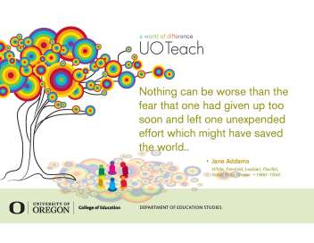uo teachout new tree quote addams