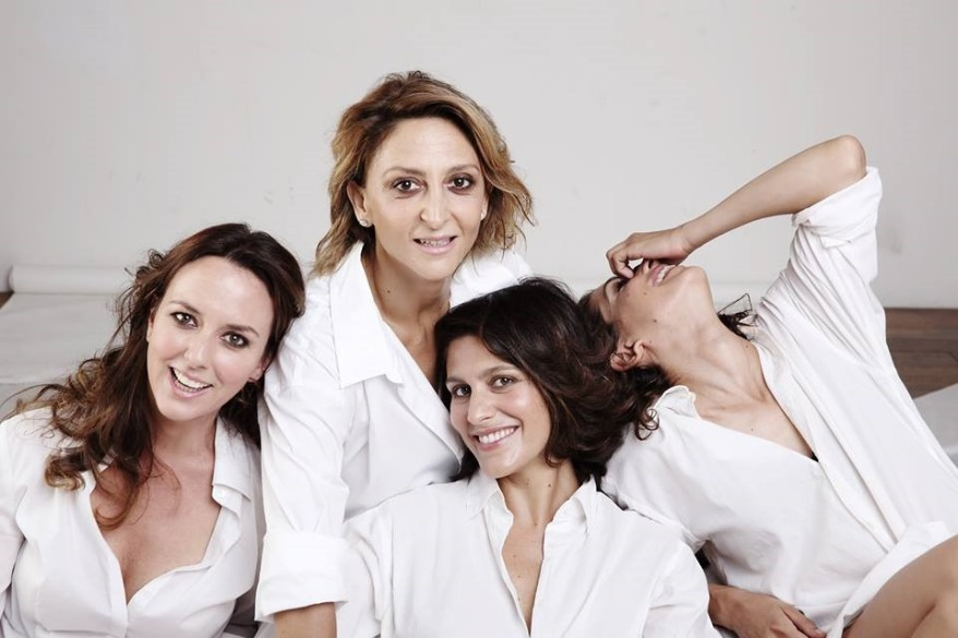 Caterina Guzzanti, Paola Minaccioni, Giulia Bevilacqua e Giulia Michelini