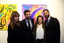 Da sx Gabriella Nucci, Piero Bellini, Beatrice Dell'Aversano, Salvo Cagnazzo