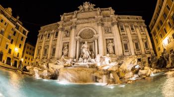Fontana di Trevi 2013