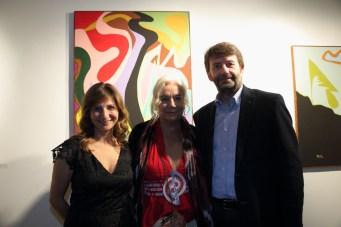 Francesca Anfosso, Enrica Antonio e Dario Franceschini