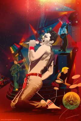Freddie Mercury Queen Alticocca