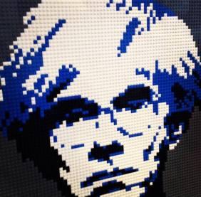 Nathan Sawaya e i Lego - Andy Warhol
