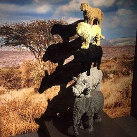 Nathan Sawaya e i Lego - animals