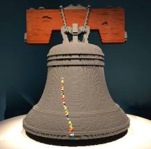 Nathan Sawaya e i Lego - Liberty Bell